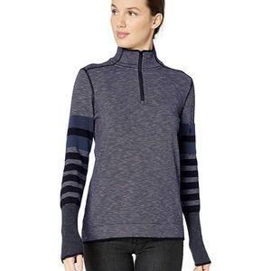 PrAna Gray Tellie Sweater Size M